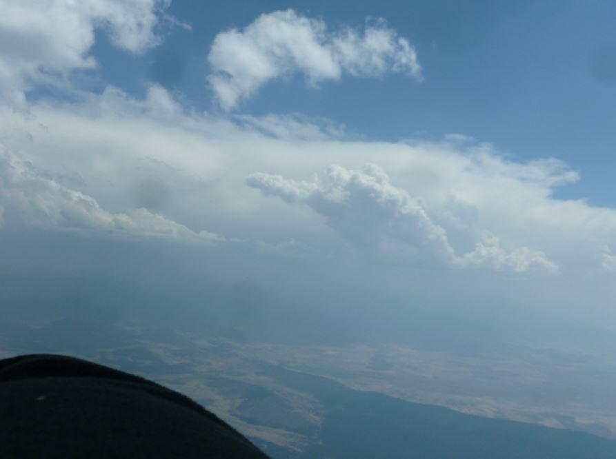 1521-more SW towards Mt Lassen looks sunny