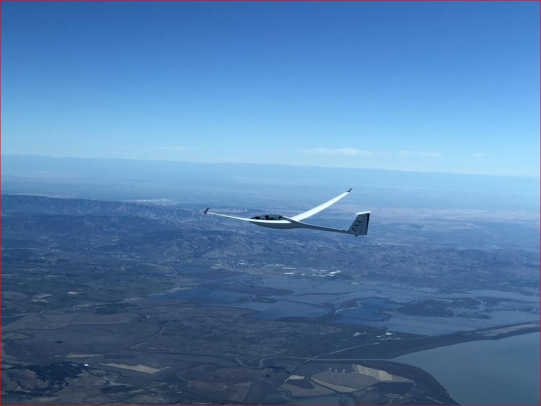 Photo of FNX over Marin County, October 7, 2018, by Ramy Yanetz